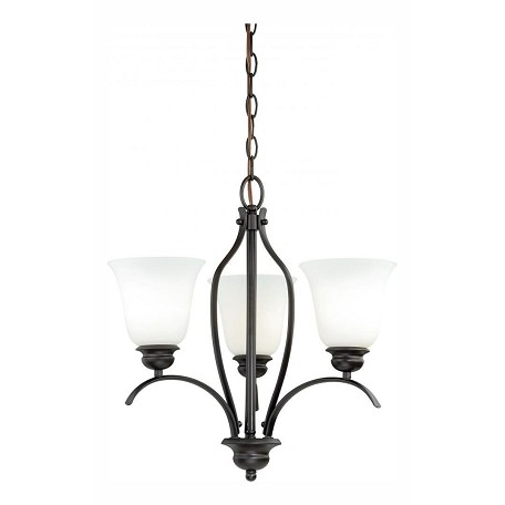 Vaxcel International Darby 3L Chandelier