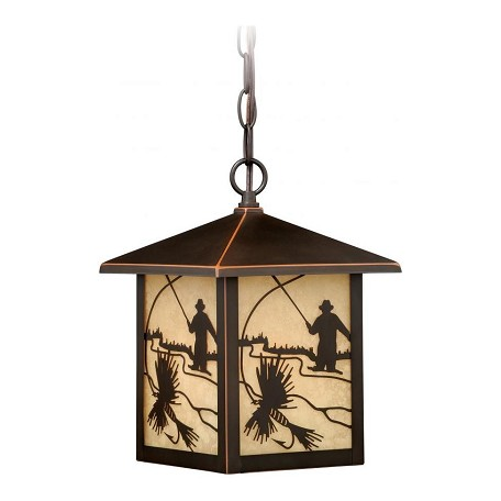 Vaxcel International Mayfly 8In. Outdoor Pendant