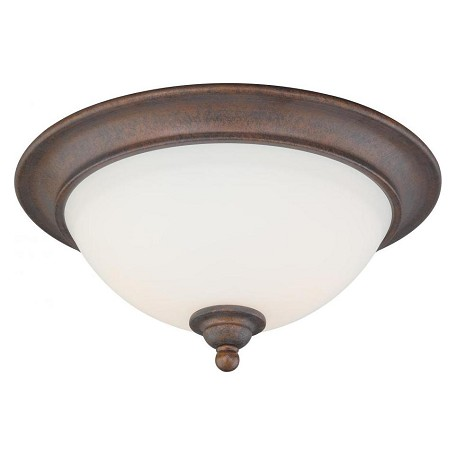 Vaxcel International Hartford 13In. Flush Mount
