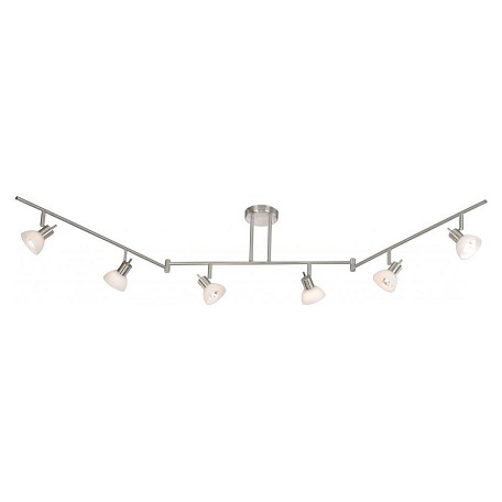 Vaxcel International 6 Light Swing Track Bar