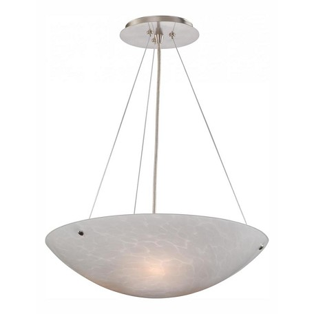 Vaxcel International Milano 16In. Pendant White Umbra Glass