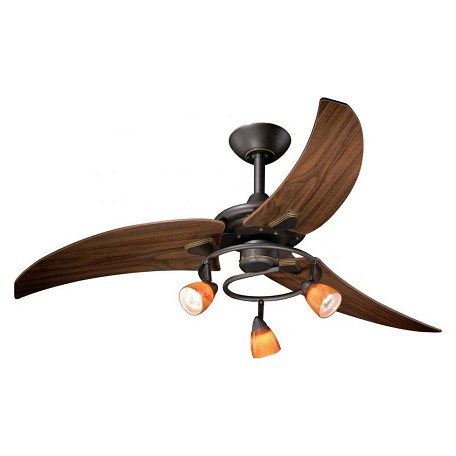 Vaxcel International 48In. Picard Ceiling Fan