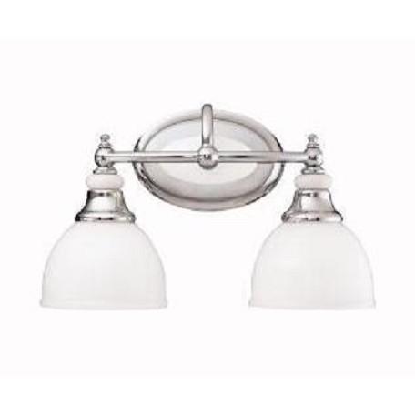 Kichler Chrome Pocelona In Wide Bulb Bathroom Lighting - Kichler chrome bathroom lighting