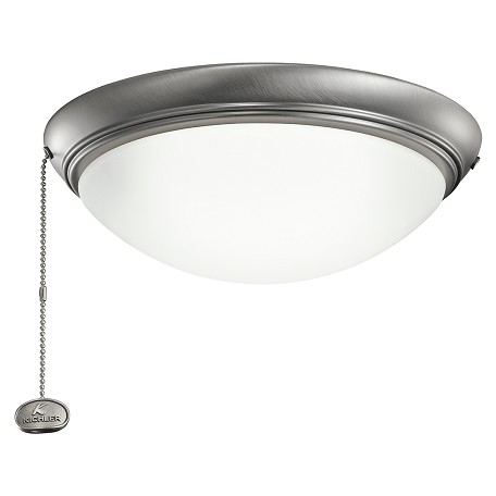 Kichler Low Profile Led Fixture Antique Pewter 338200ap From No Family Collection
