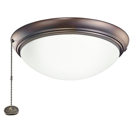 Kichler Low Profile Led Fixture Oil Brushed Bronze 338200obb From Accessory Collection