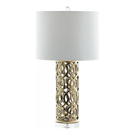 Cyan Designs Gold Empress 1 Light Accent Table Lamp With