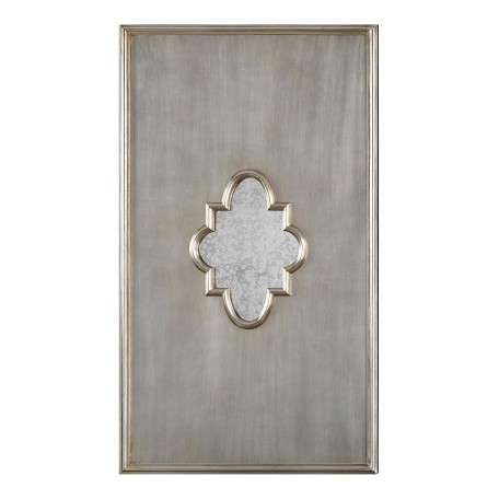 Uttermost Uttermost Gardanne Silver Leaf Antique Mirror