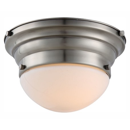 Urban Classic 1475 Daisy Collection Flush Mount D:9.5In. H:5.5In. Lt:1 Vintage Nickel Fini