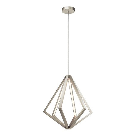 Elan Satin Nickel Everest LED Pendant