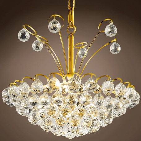 "JM Atlantis Design 8 Light 18"" Chandelier"