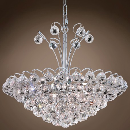 "JM Atlantis Design 8 Light 22"" Chandelier"