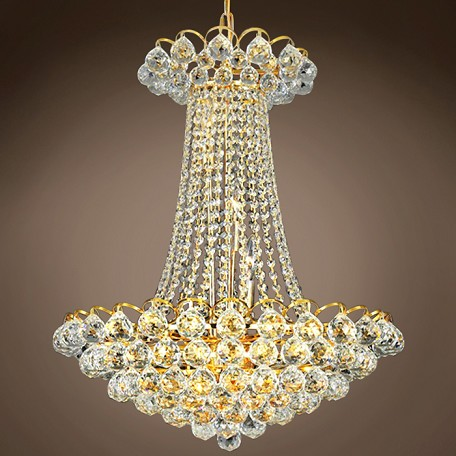 "JM Atlantis Design 13 Light 21"" Chandelier"