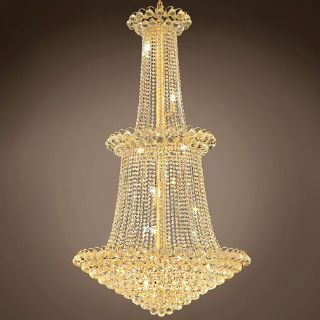 "JM Atlantis Design 22 Light 36"" Chandelier"