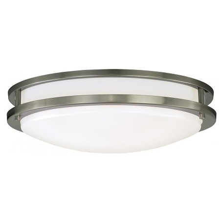 Vaxcel International Horizon 16In. Led Flush Mount Ceiling Light