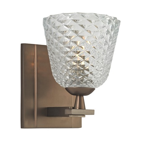 Hudson Valley Brushed Bronze Grafton 1 Light Xenon Bathroom Sconce Brushed Bronze 4061 Bb From