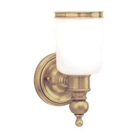 Hudson Valley Aged Brass Chatham 1 Light Bathroom Wall