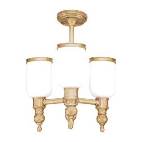 Hudson Valley Antique Nickel Four Light Ceiling Fixture