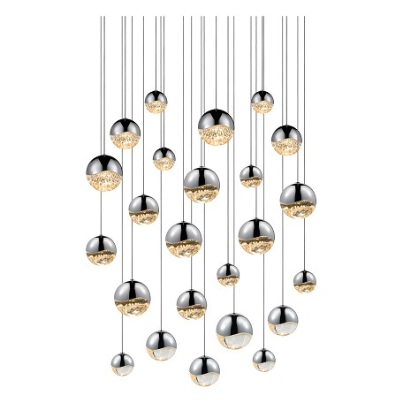 Sonneman 24-Light Round Assorted Led Pe