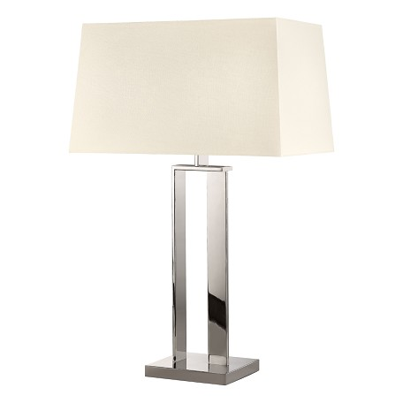 Sonneman Table Lamp Polished Nickel 4690 35 From D Collection