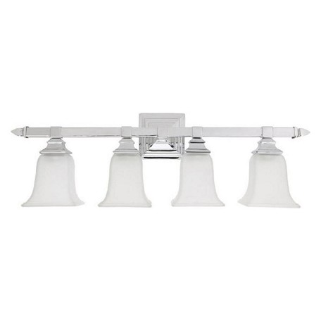 Capital Chrome 4 Light Bathroom Vanity Fixture Chrome 1064ch 142 From Capital Vanities Collection