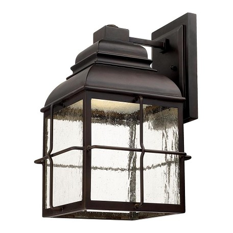 Capital Old Bronze Lanier 1 Light LED Outdoor Wall Sconce