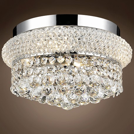 "JM Bagel Design 4 Light 12"" Flush Mount"