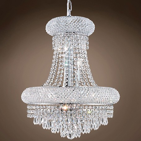 "JM Bagel Design 8 Light 16"" Chandelier"