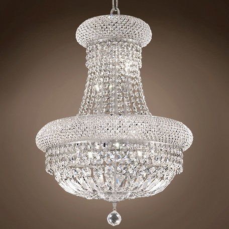 "JM Bagel Design 14 Light 20"" Chandelier"