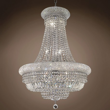 "JM Bagel Design 14 Light 24"" Chandelier"