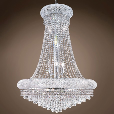 "JM Bagel Design 14 Light 28"" Chandelier"