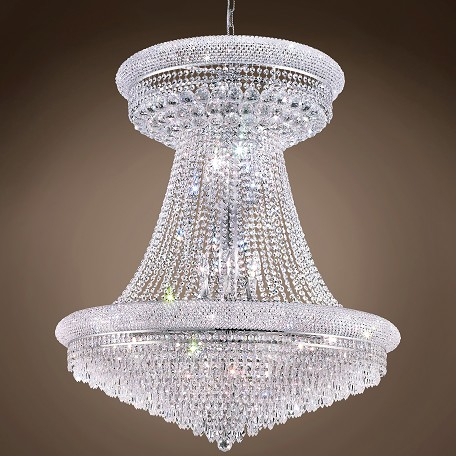 "JM Bagel Design 28 Light 36"" Chandelier"
