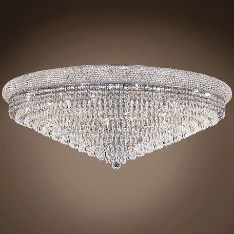 "JM Bagel Design 30 Light 42"" Flush Mount"