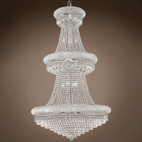 "JM Bagel Design 32 Light 30"" Chandelier"