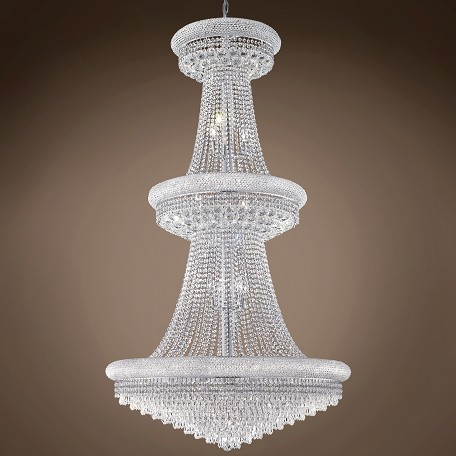 "JM Bagel Design 32 Light 36"" Chandelier"