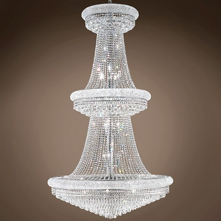"JM Bagel Design 38 Light 42"" Chandelier"