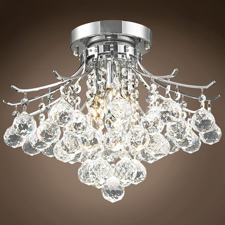 "JM Contour Design 3 Light 16"" Flush Mount"