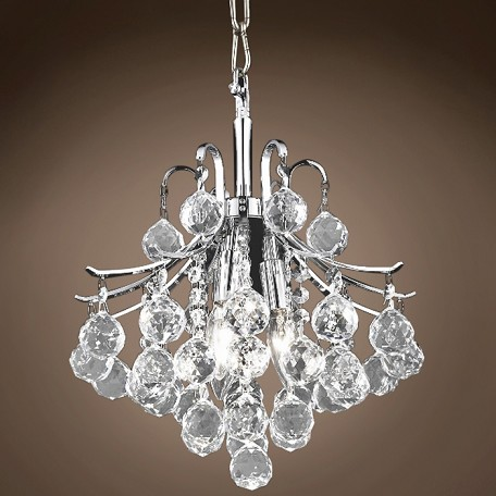"JM Contour Design 3 Light 12"" Chandelier"