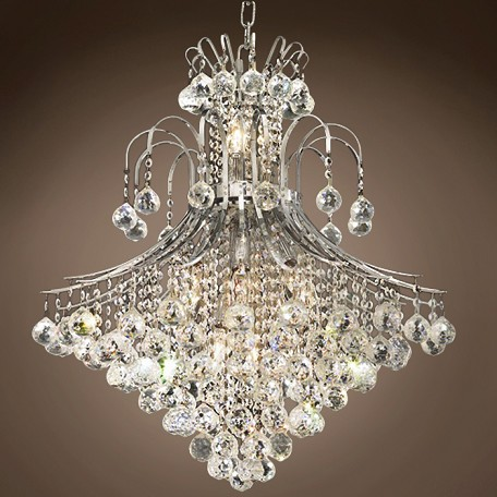 "JM Contour Design 15 Light 25"" Chandelier"