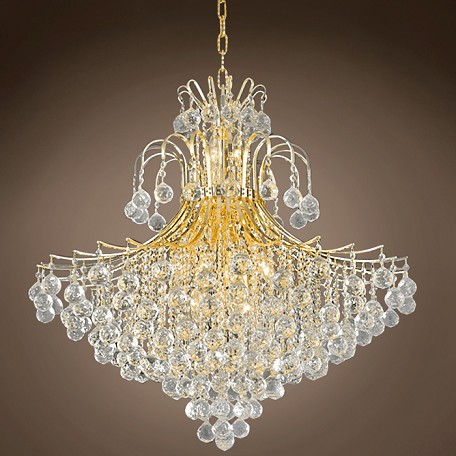 "JM Contour Design 15 Light 31"" Chandelier"