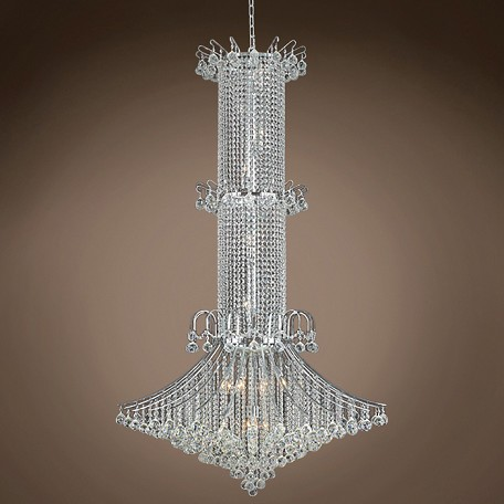 "JM Contour Design 20 Light 44"" Chandelier"