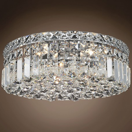 "JM Ibiza Design 4 Light 14"" Flush Mount"