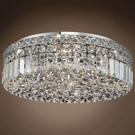 "JM Ibiza Design 6 Light 20"" Flush Mount"