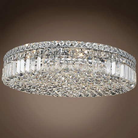 "JM Ibiza Design 9 Light 24"" Flush Mount"