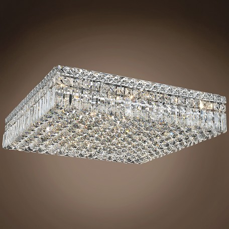 "JM Ibiza Design 13 Light 24"" Flush Mount"