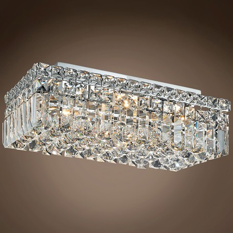 "JM Ibiza Design 4 Light 16"" Flush Mount"