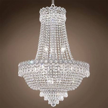 "JM Empire Design 12 Light 20"" Chandelier"