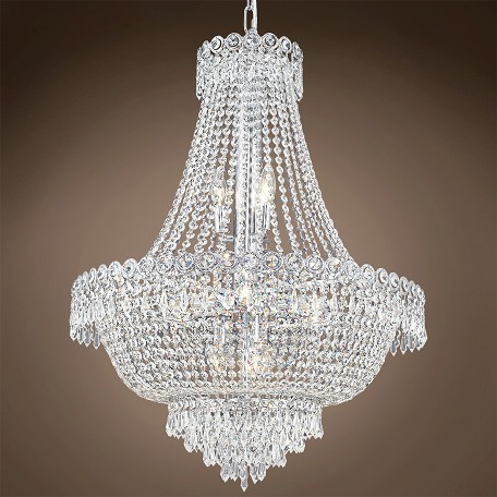"JM Empire Design 12 Light 24"" Chandelier"
