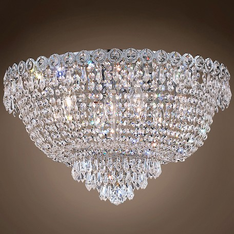 "JM Empire Design 9 Light 20"" Flush Mount"