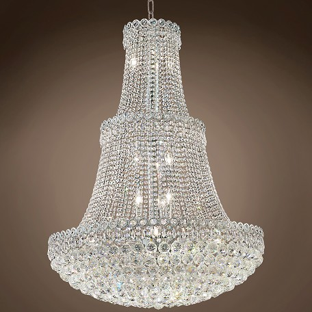 "JM Empire Design 17 Light 30"" Chandelier"
