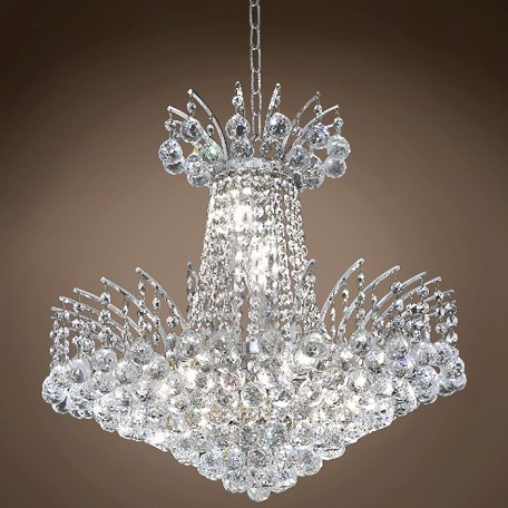 "JM Flamingo Design 8 Light 19"" Chandelier"